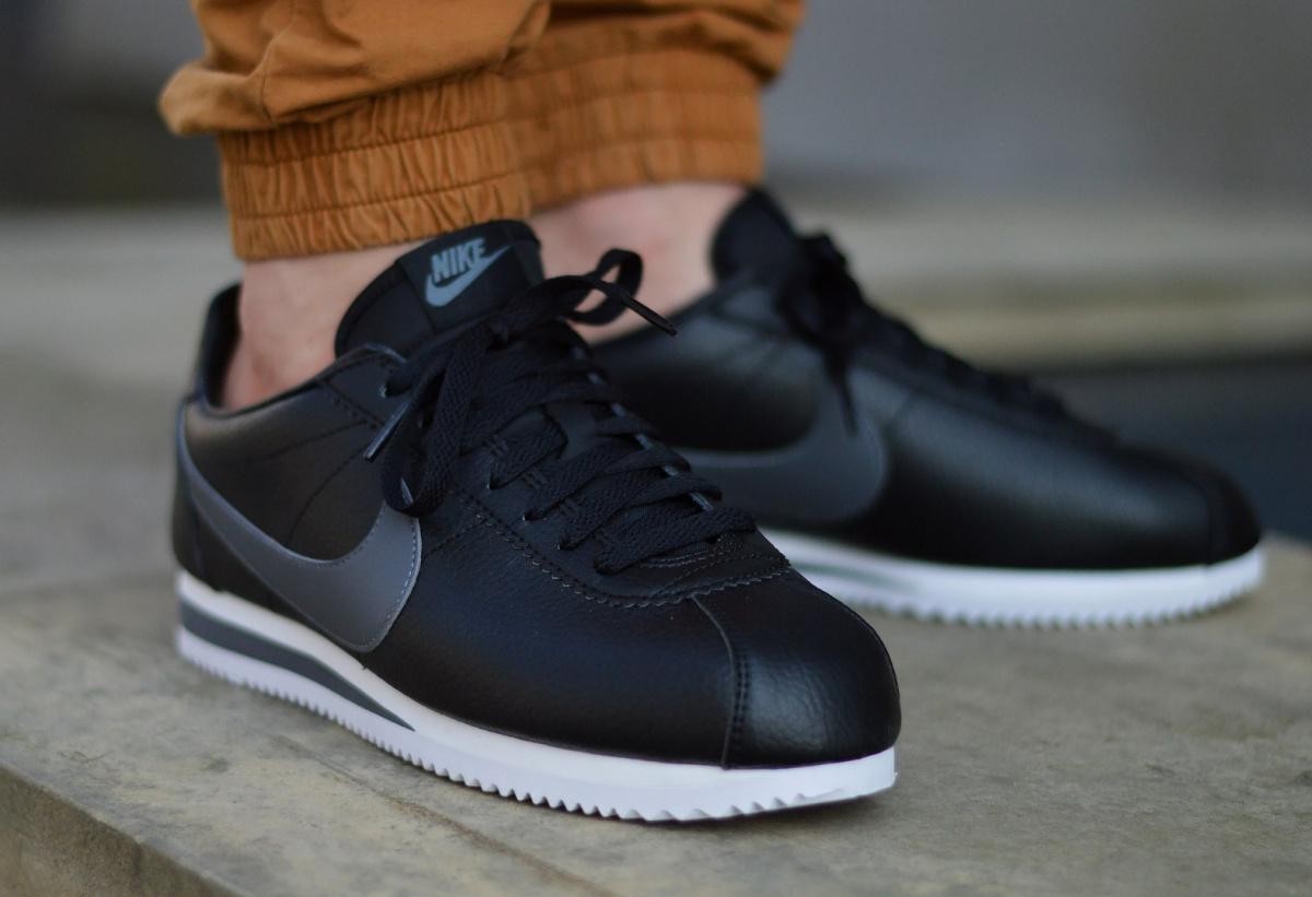 Détails sur Nike Classic Cortez Leather 749571 011 Chaussures Hommes